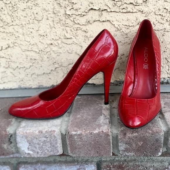 a9b290171570 Aldo Shoes - Aldo Red High Heels 👠